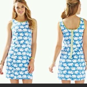 Lilly Pulitzer Bay Blue Cathy Shift Dress